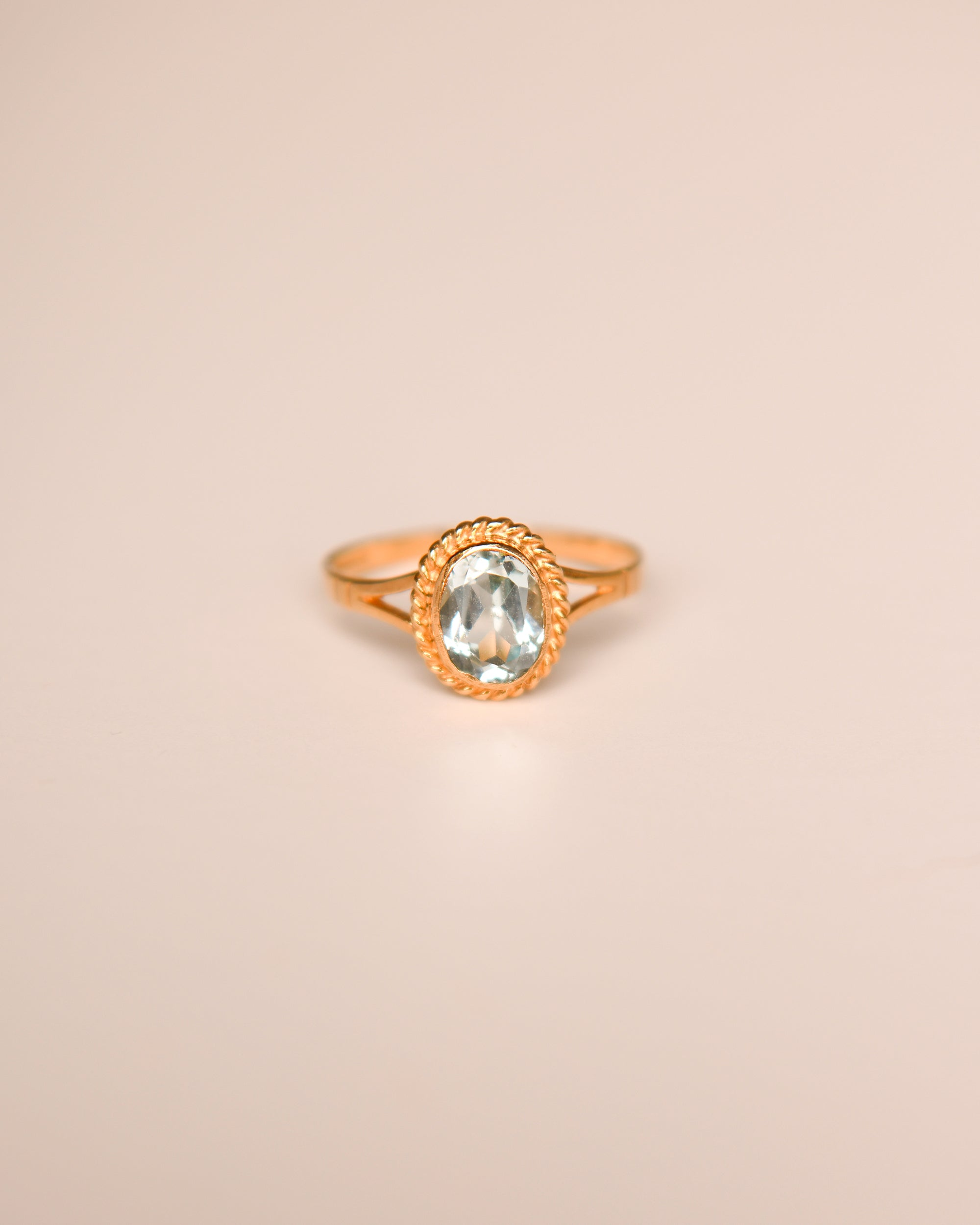 Image of Tabitha 9ct Gold Vintage Topaz Ring