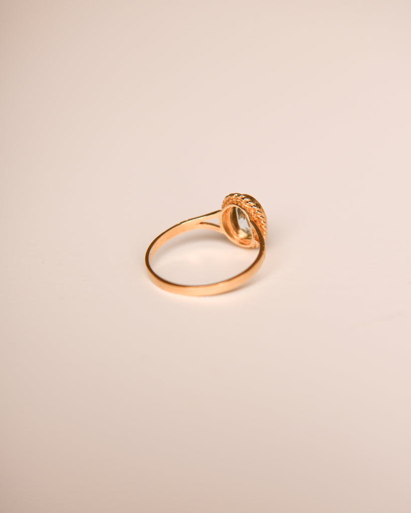 Tabitha 9ct Gold Vintage Topaz Ring