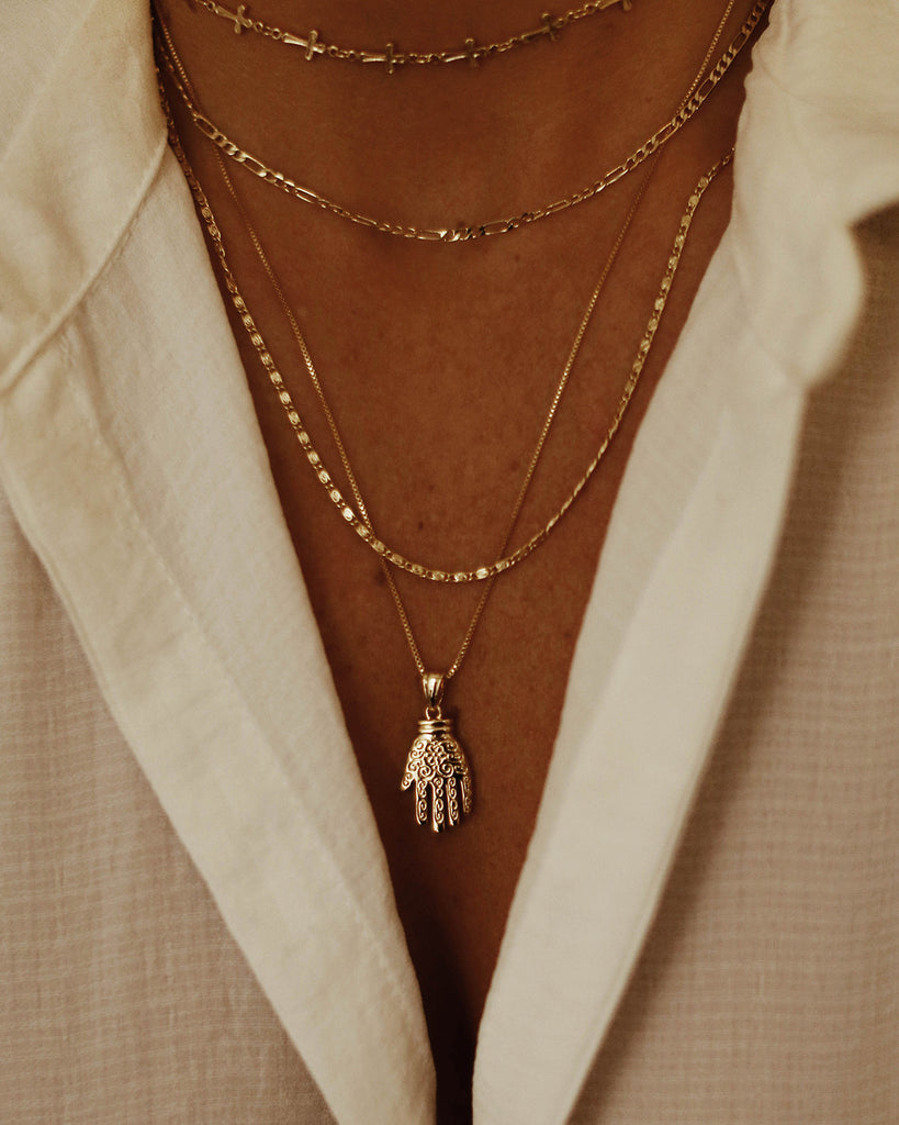 Camille Cross Chain Necklace