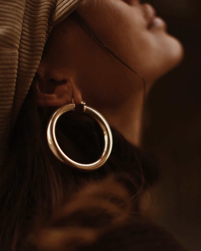 Maria Oversize Hoop Earrings