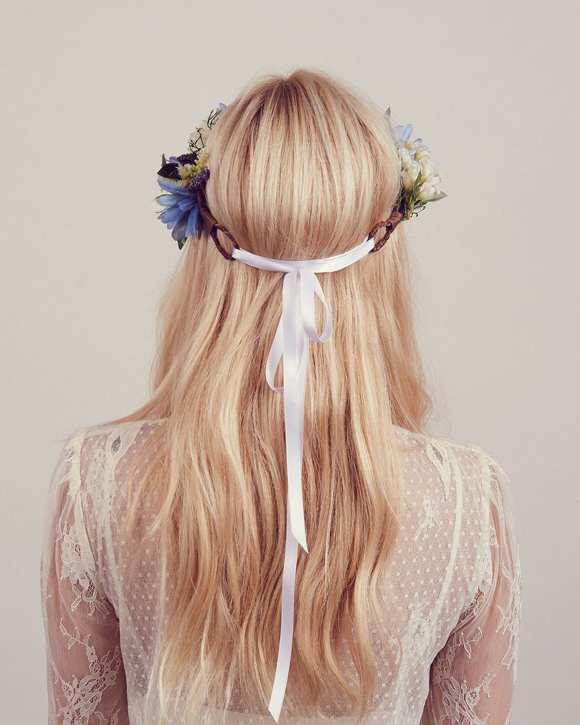 Cambridge Floral Meadow Crown Headband