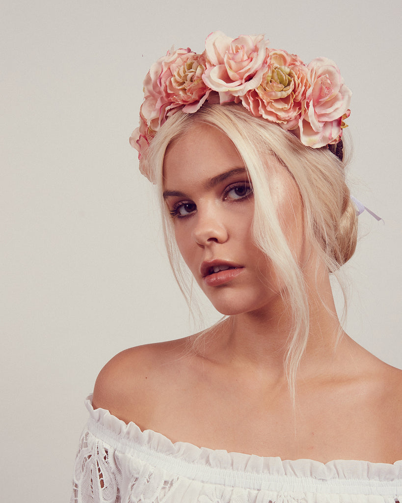 Blossom Rose Crown Headband