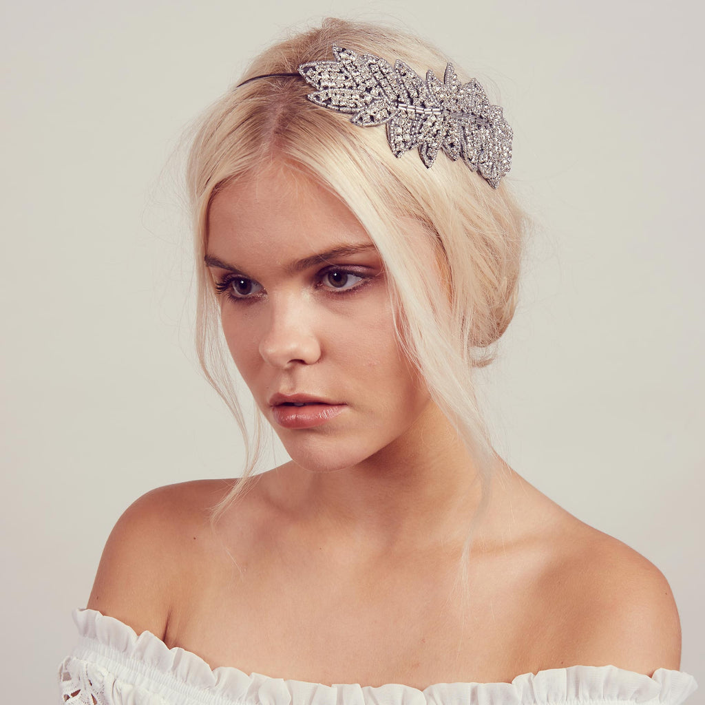 Image of IONA Rhinestone Halo Headband