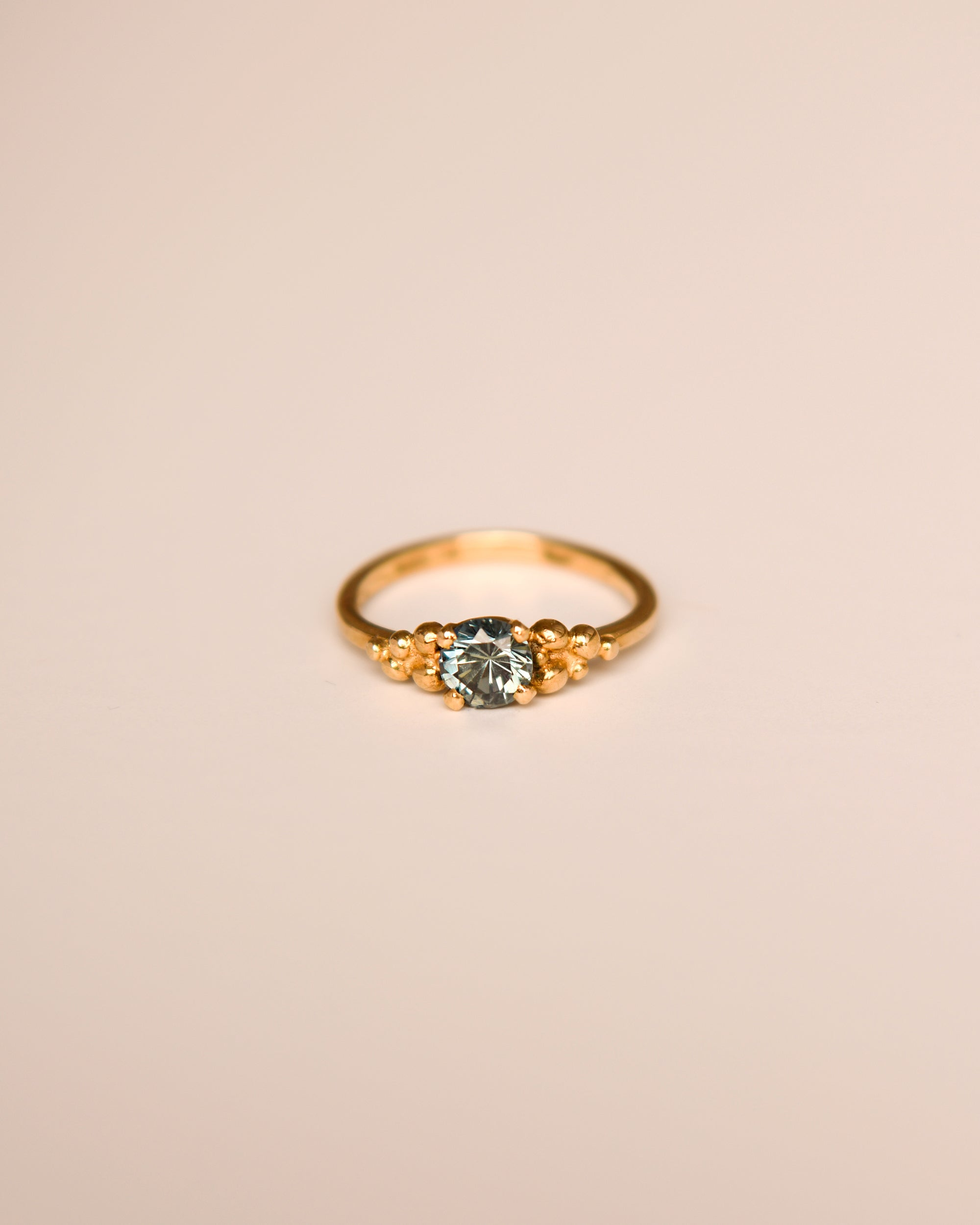 Image of Michelle 9ct Gold Vintage Topaz Ring