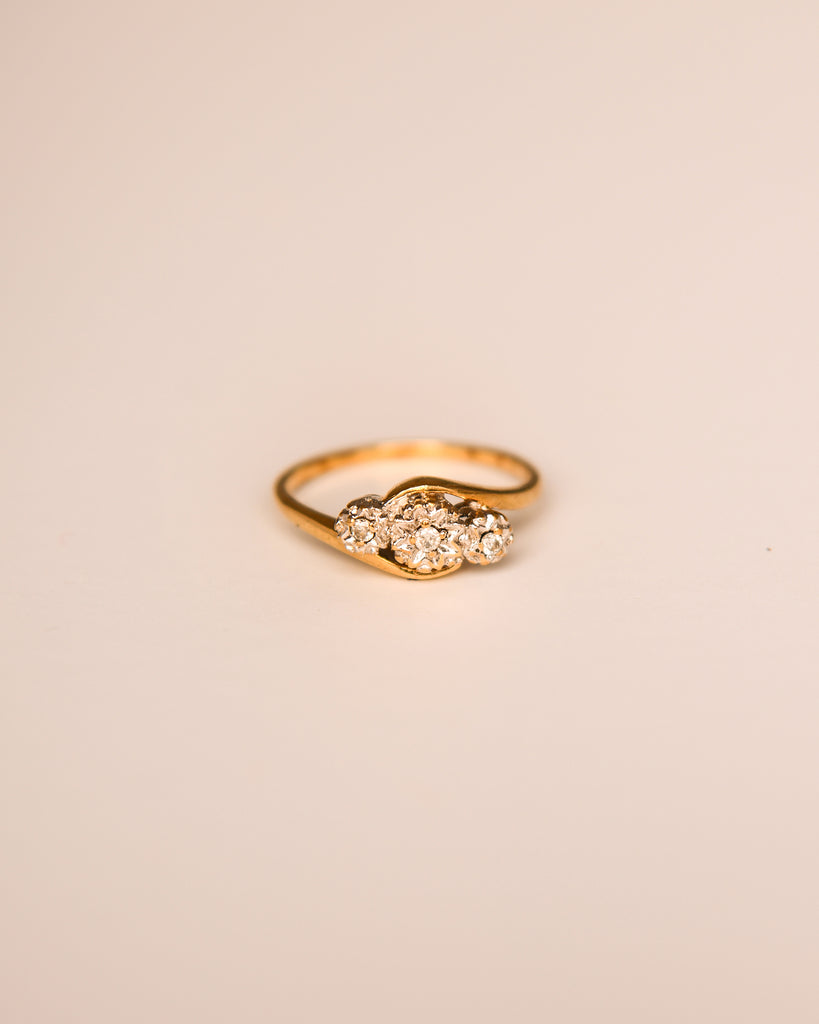 Émilie 9ct Gold Vintage Diamond Ring