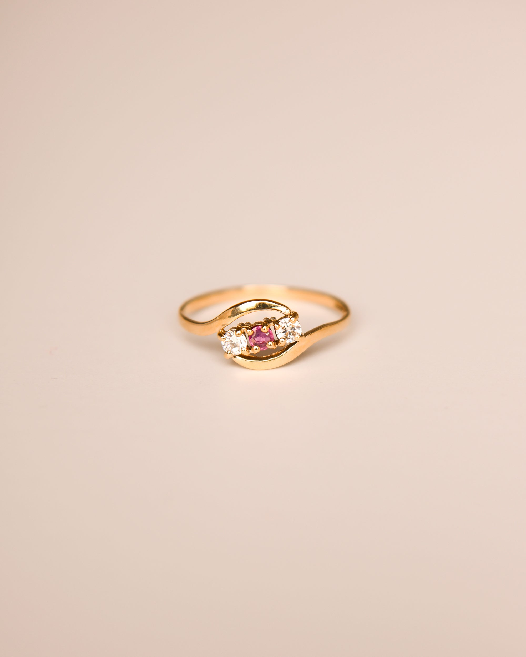 Image of Ana 9ct Gold Vintage Ring