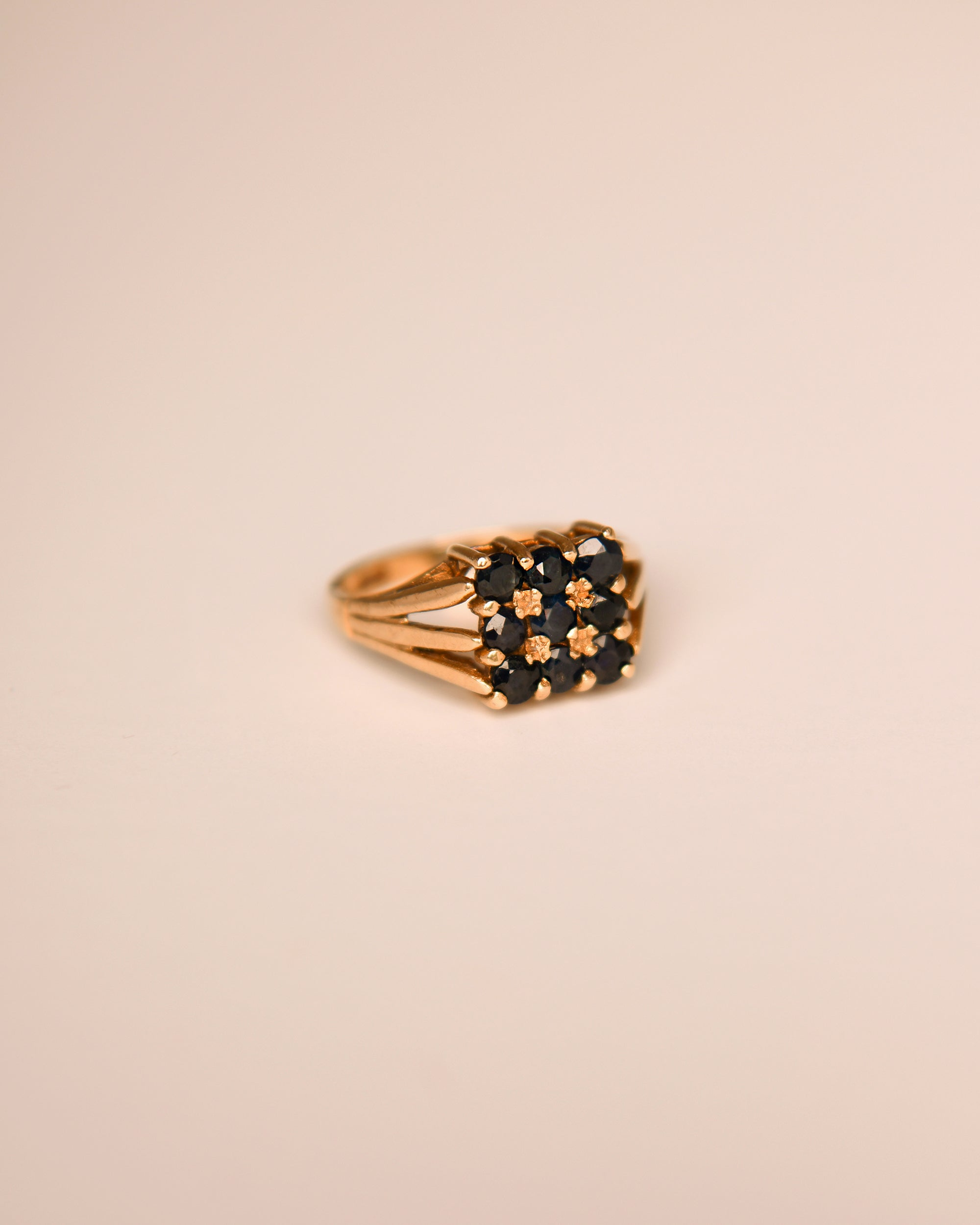 Darla 9ct Gold Vintage Sapphire Ring