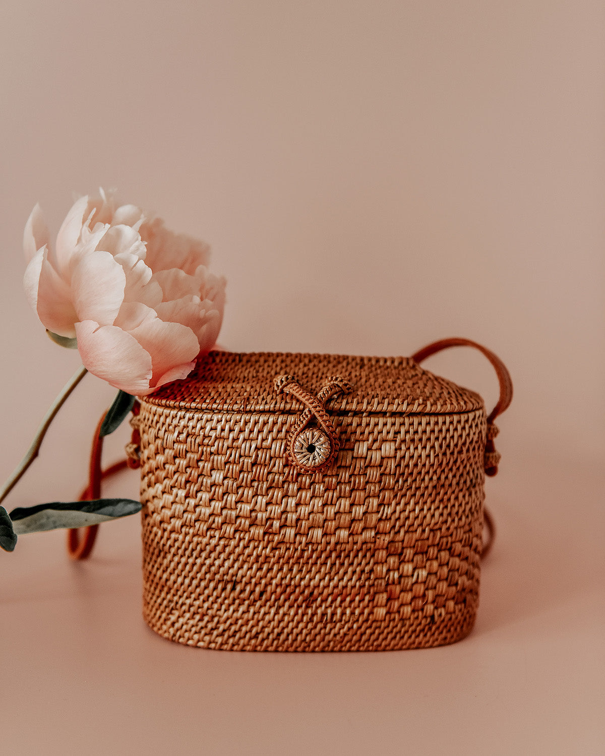 Image of Blaire Woven Basket Bag