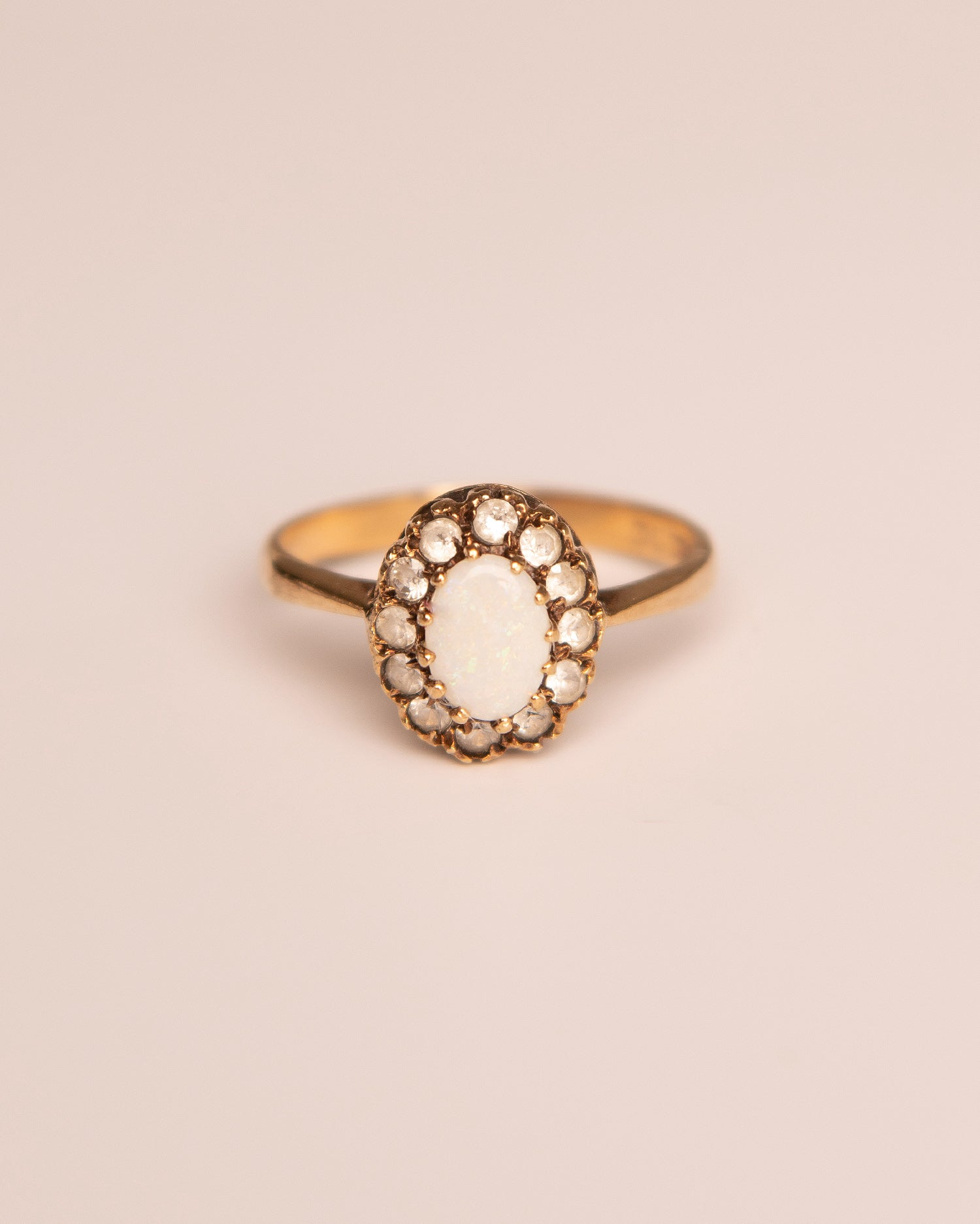 Constance 9ct Gold Vintage Opal Ring