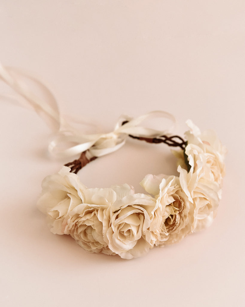 Martha Rose Crown Headband