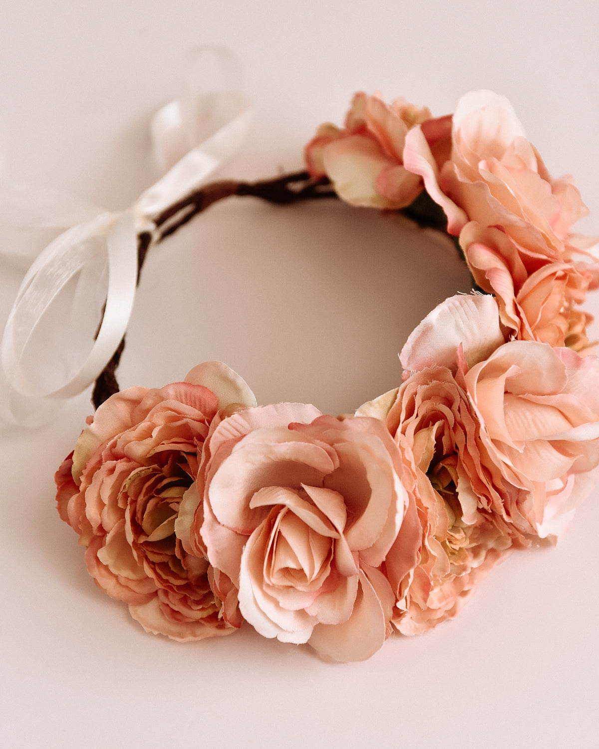 Image of Blossom Rose Crown Headband
