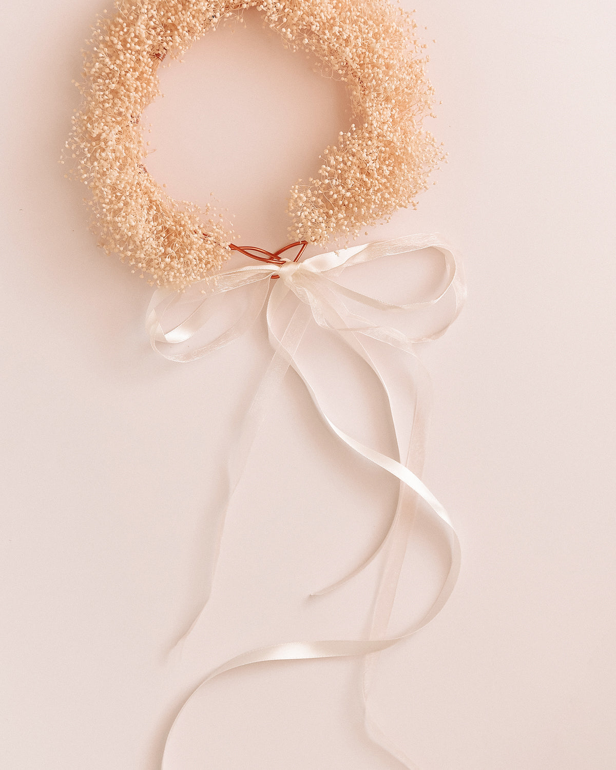 Honey Preserved Gypsophila Flower Crown