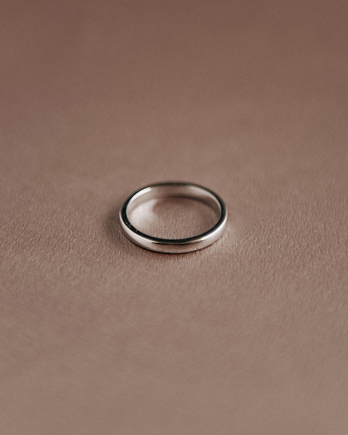 Image of Alexa Sterling Silver Simple Band Ring