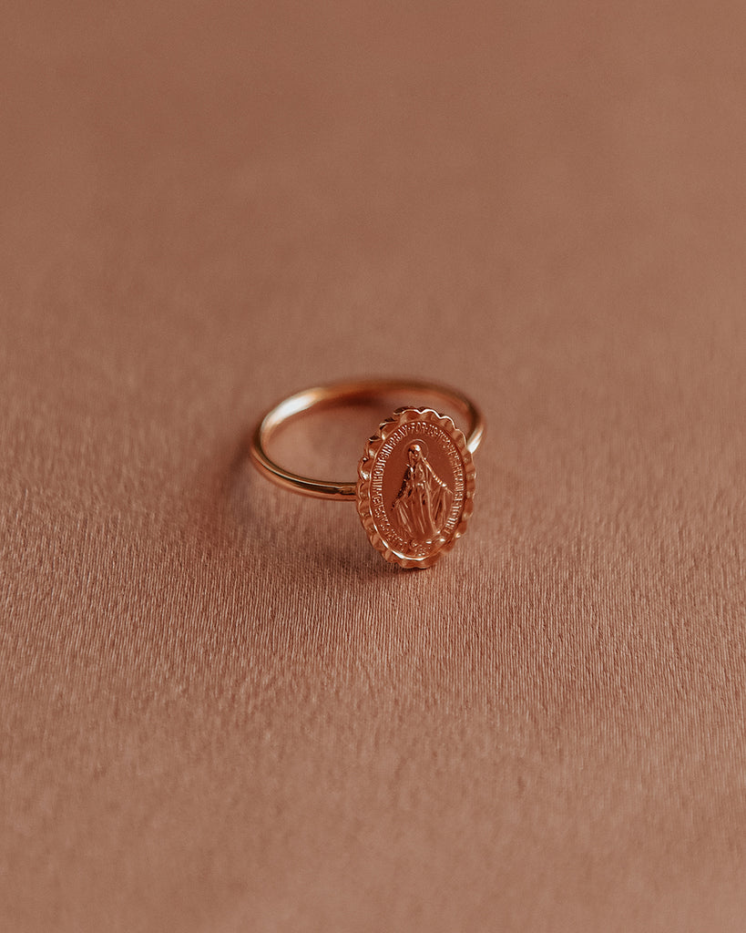 Honor Miraculous Medal Ring