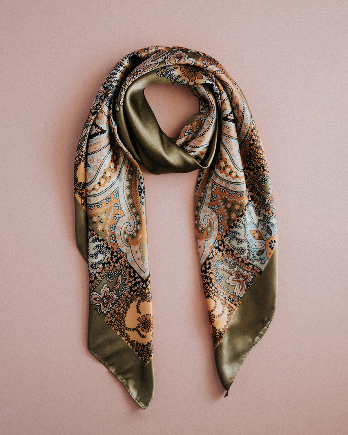 Image of Rhea Silk Hair Scarf
