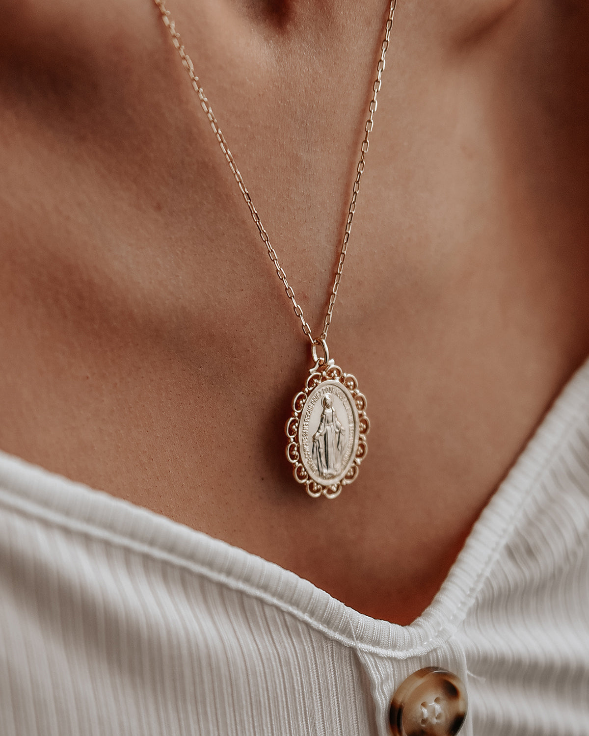 Truly Miraculous Medal Necklace