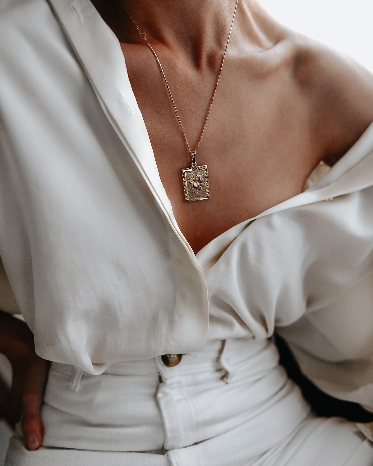Everly Rose Pendant Necklace