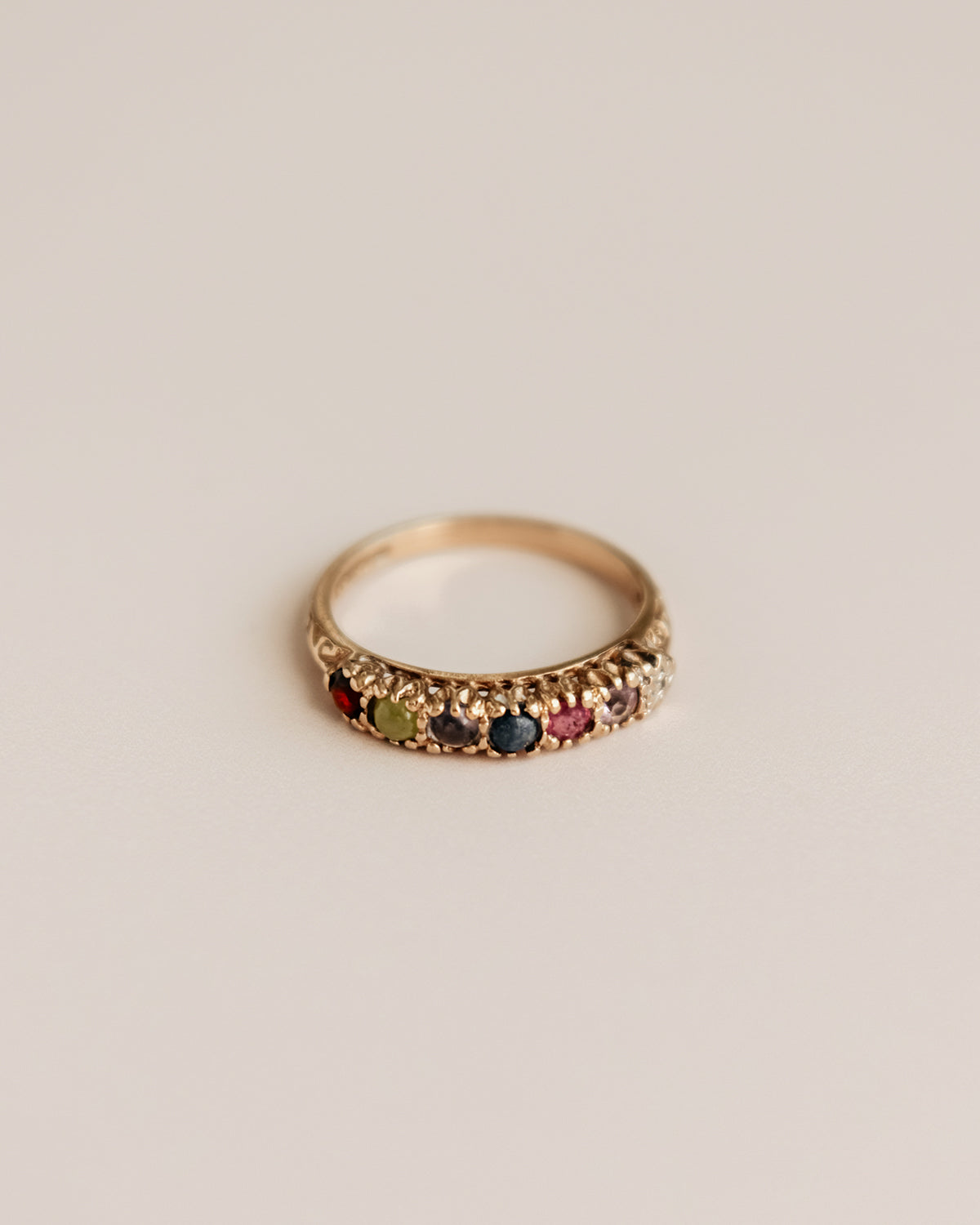 Image of Darling Exclusive Vintage 9ct Gold Ring