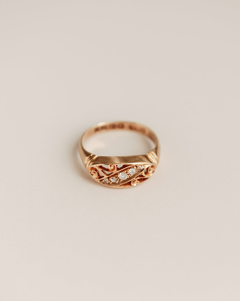 Elodie 18ct Gold Diamond Ring