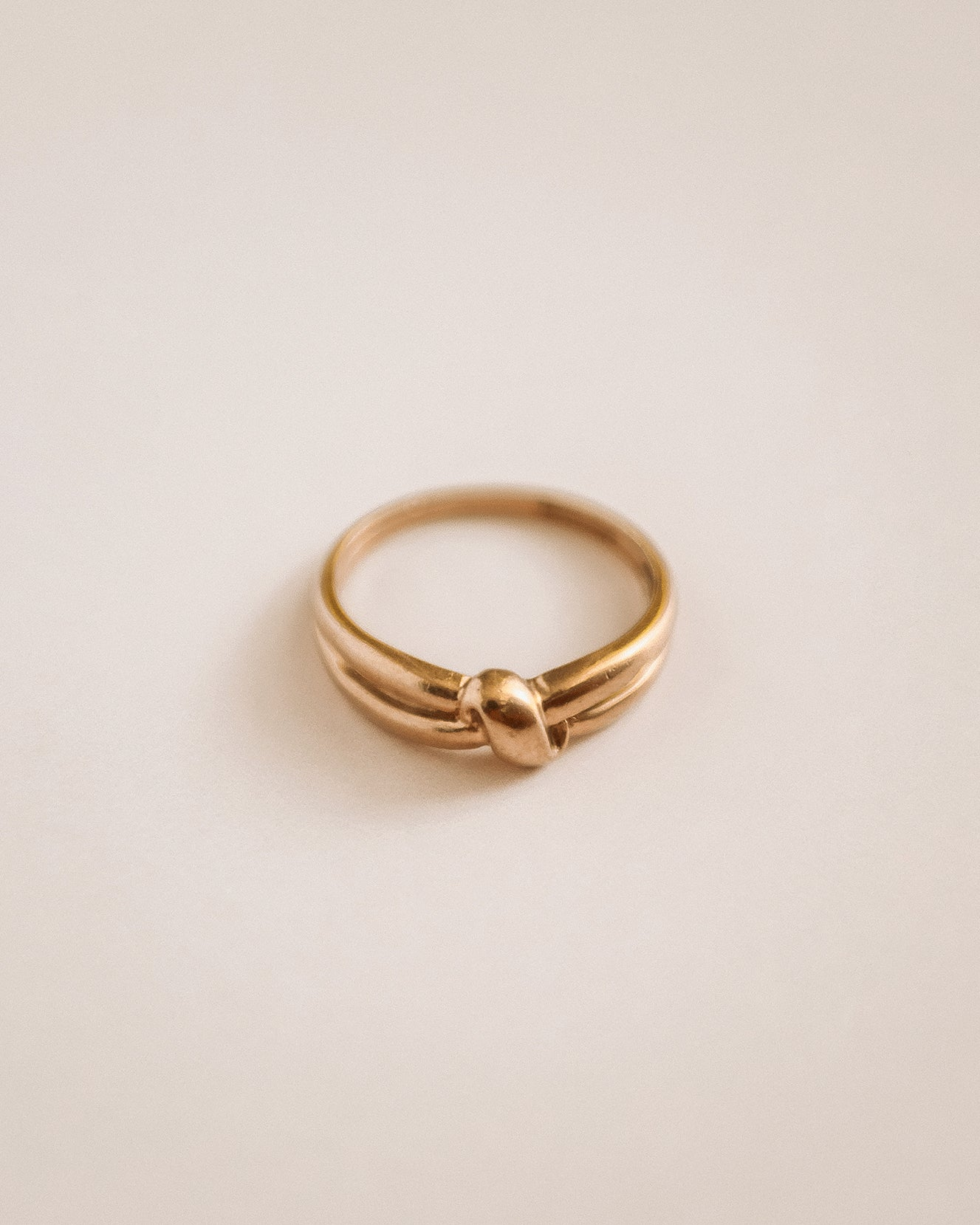 Image of Maude 9ct Gold Knot Band Ring