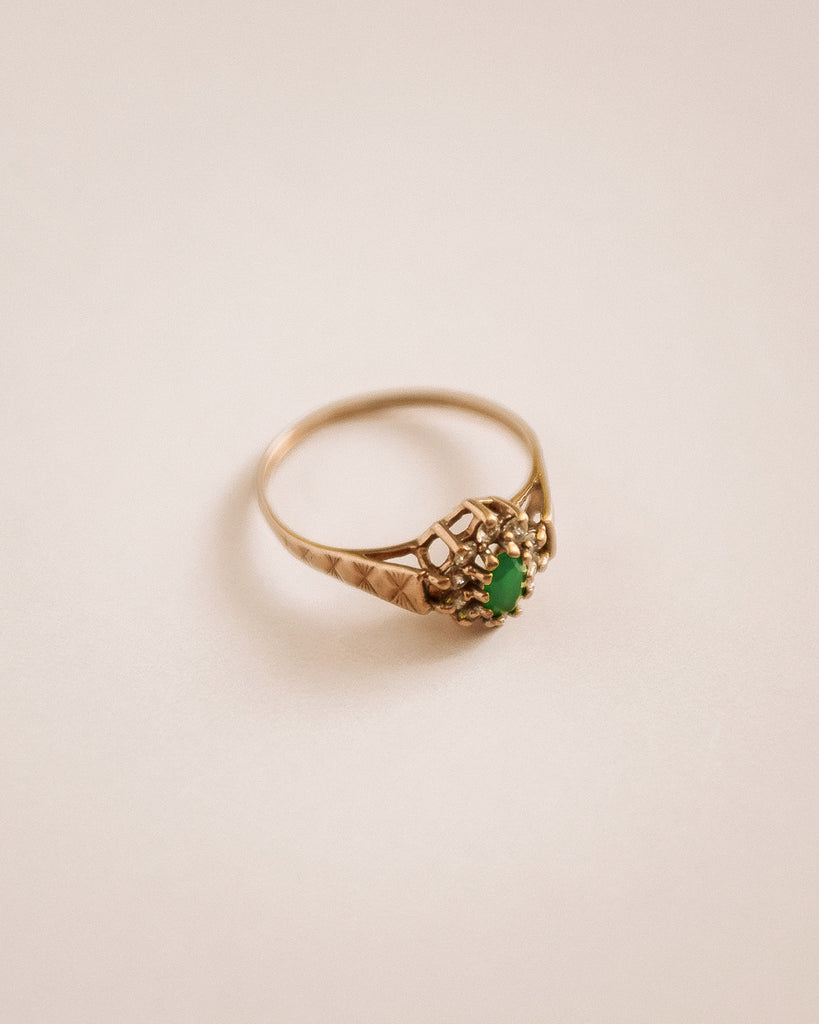Marlene 9ct Gold Emerald Ring