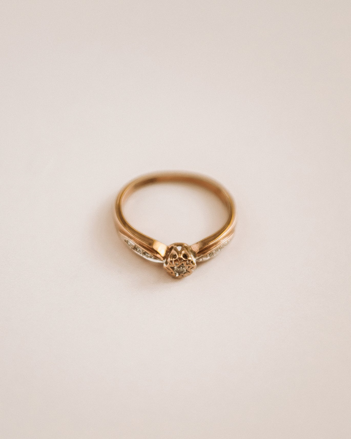 Image of Lucy 9ct Gold Diamond Ring