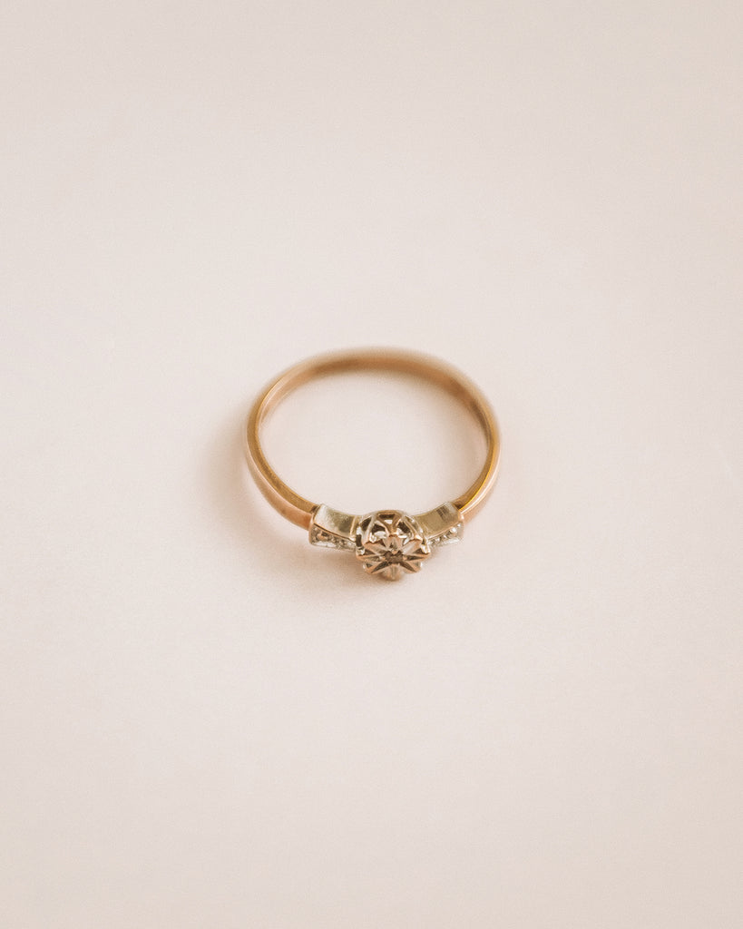 Georgette 9ct Gold Diamond Ring