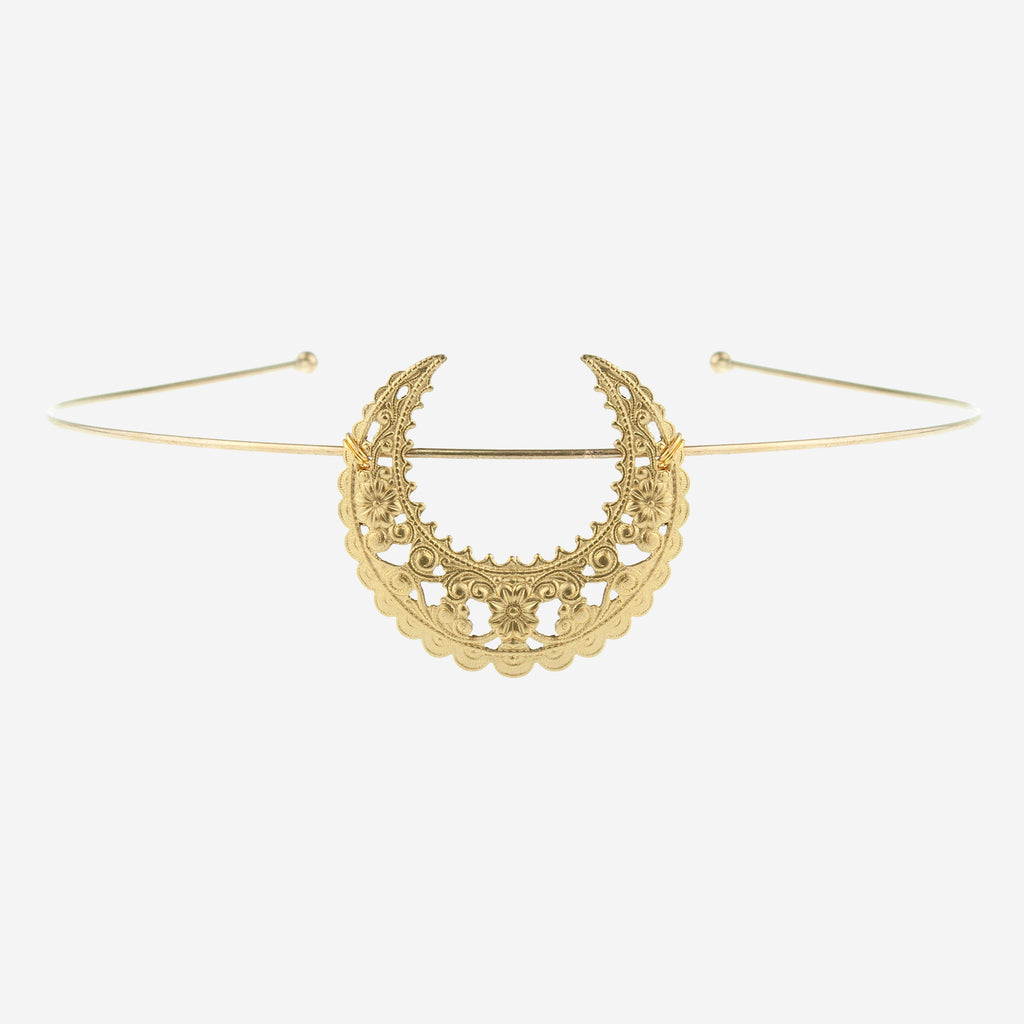 Image of EARTHA Crescent Tiara Headband