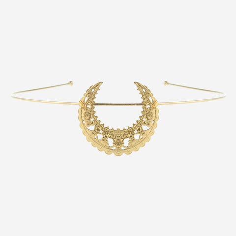 EARTHA Crescent Tiara Headband