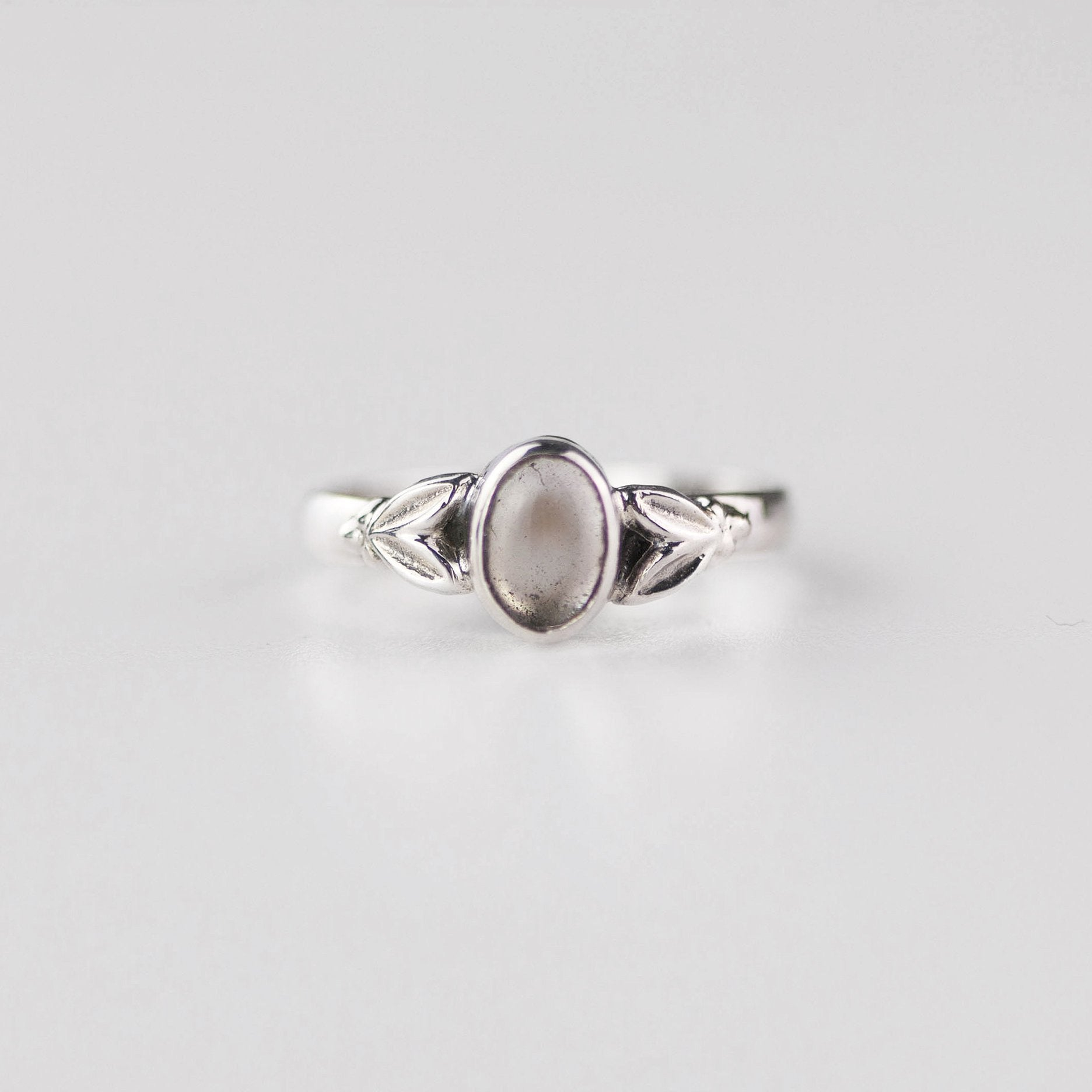 Image of Edie Clear Quartz April Birthstone Ring