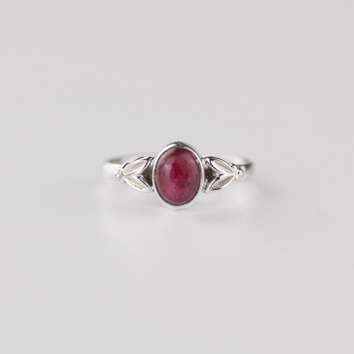 Image of Edie Ruby July Birthstone Ring