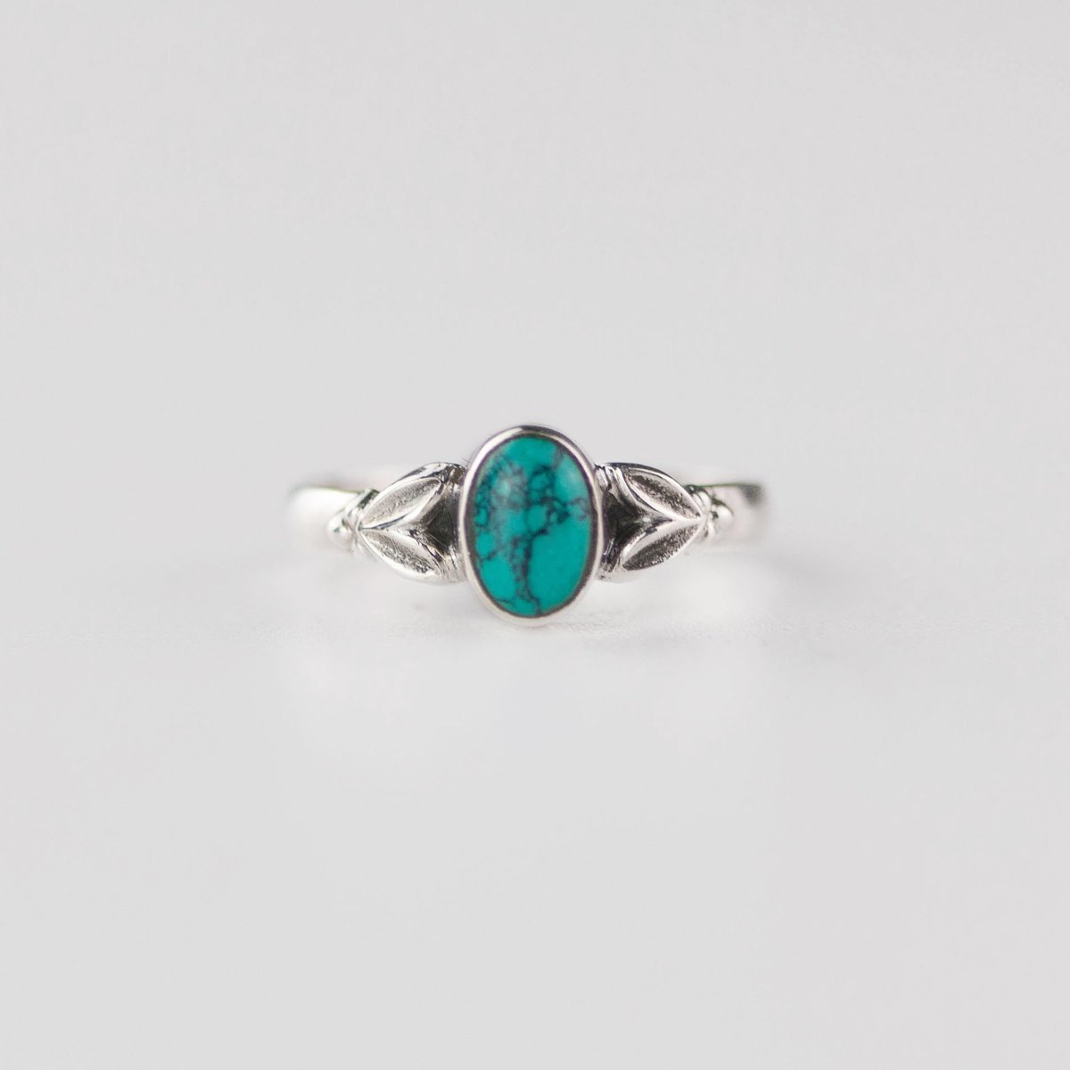 Edie Turquoise December Birthstone Ring