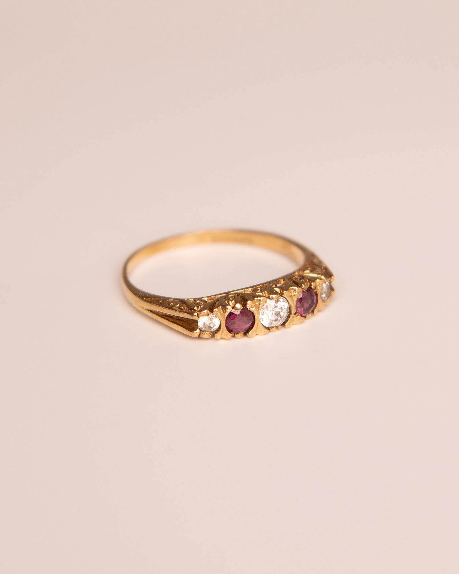 Image of Elena 9ct Gold Ruby Ring
