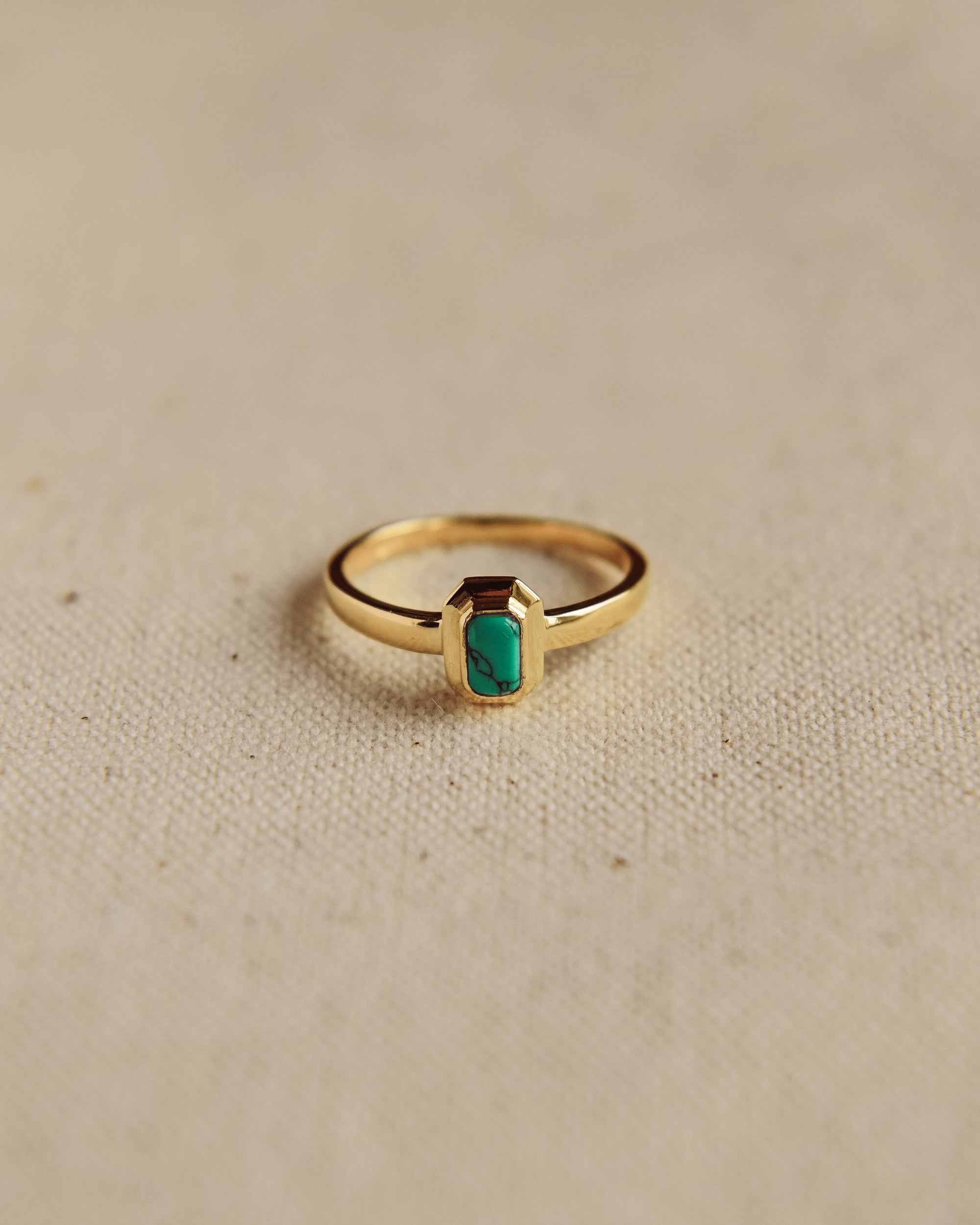 Image of Frances Gold Vermeil Birthstone Ring - December