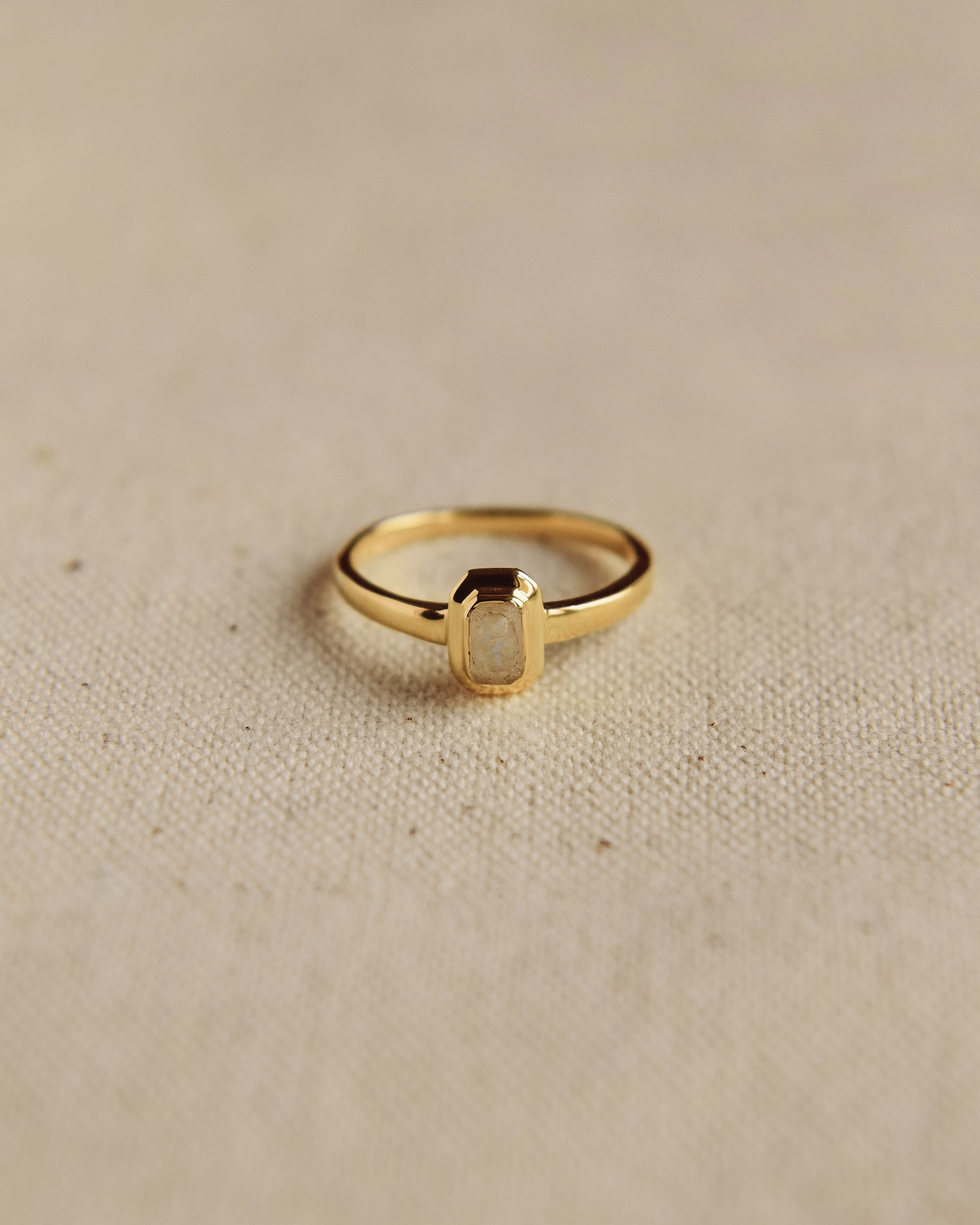 Image of Frances Gold Vermeil Birthstone Ring - October