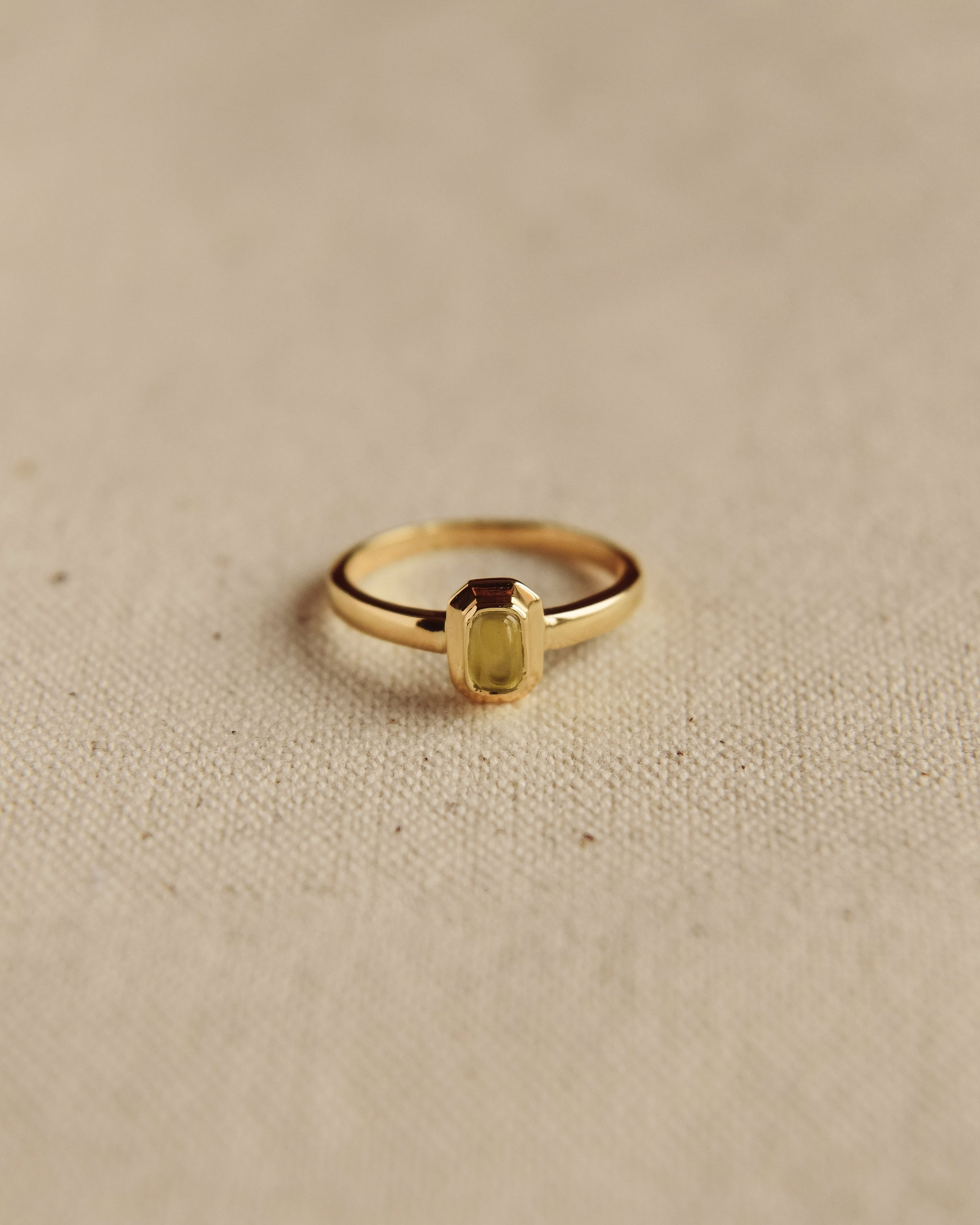 Image of Frances Gold Vermeil Birthstone Ring - August