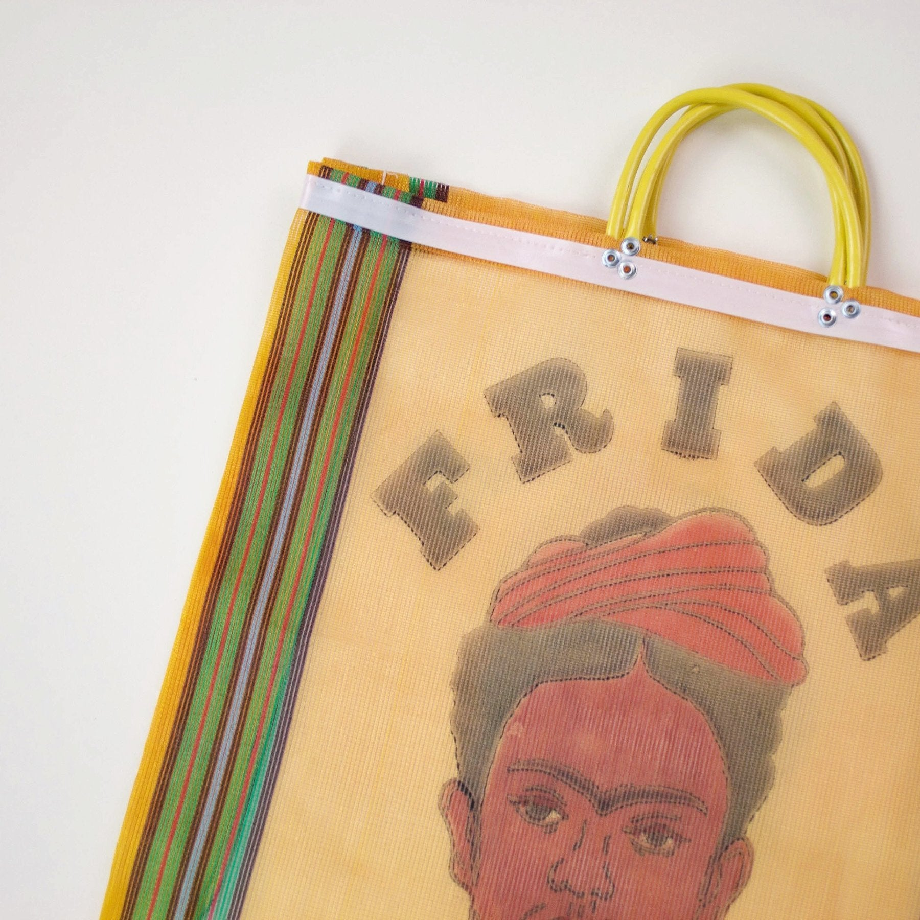 Image of Frida Kahlo Shopper Bag - Orange