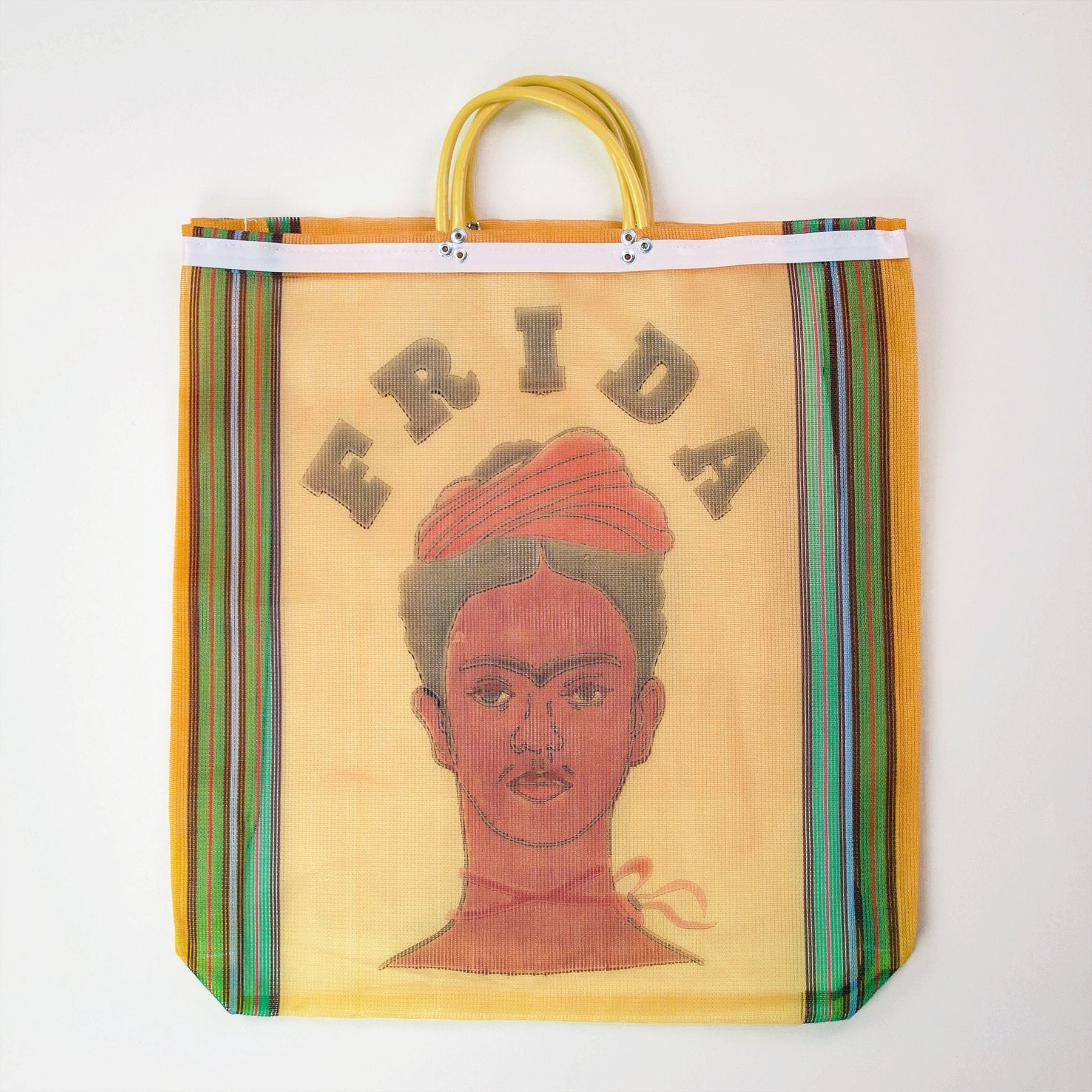 Frida Kahlo Shopper Bag - Orange