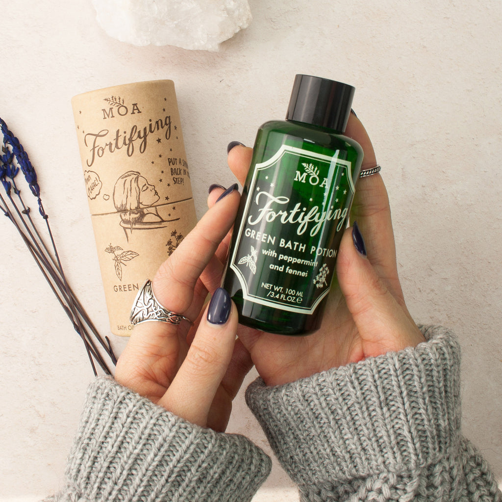 Magic Organic Apothecary Fortifying Green Bath Potion