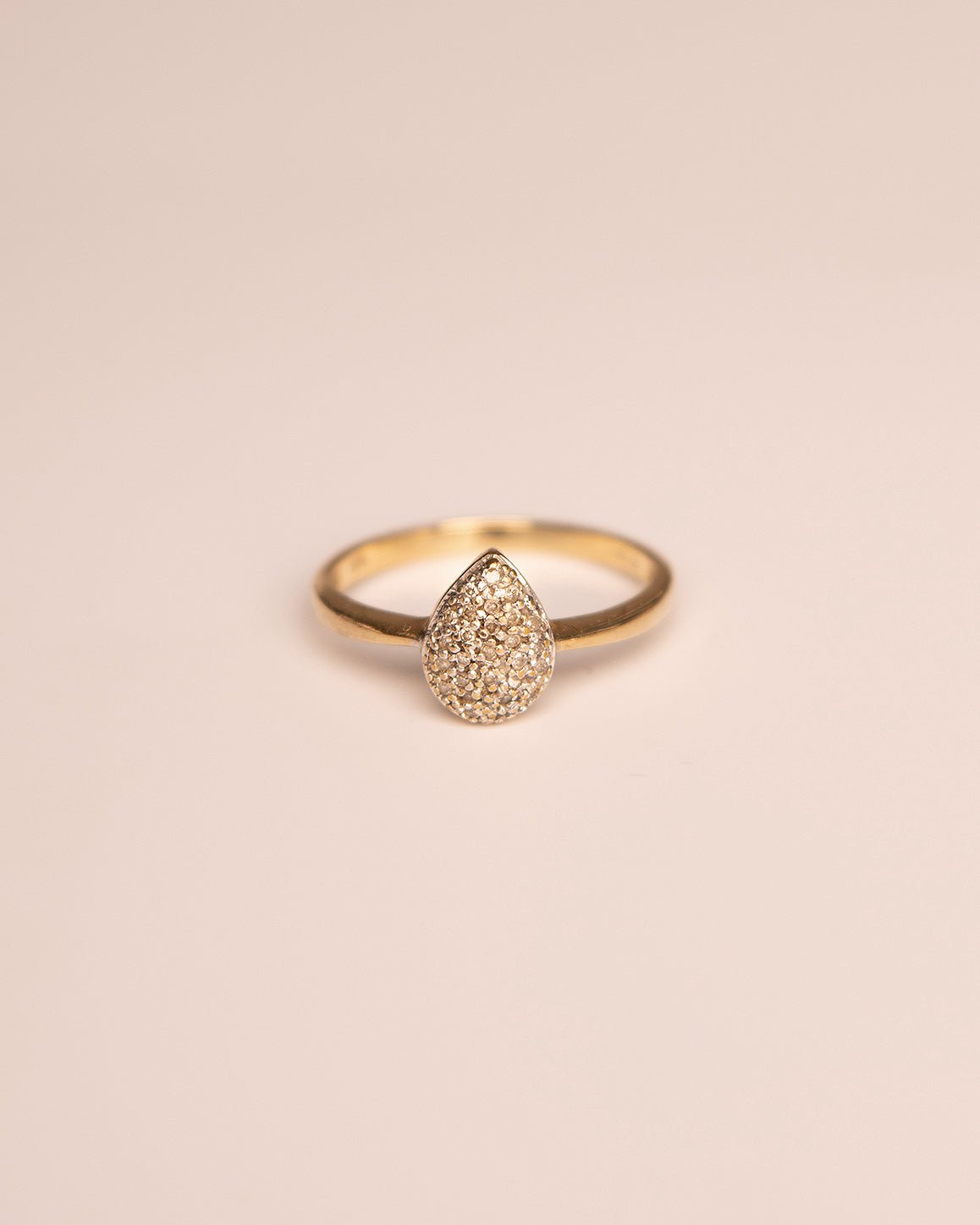 Harriet 9ct Gold Diamond Cluster Ring