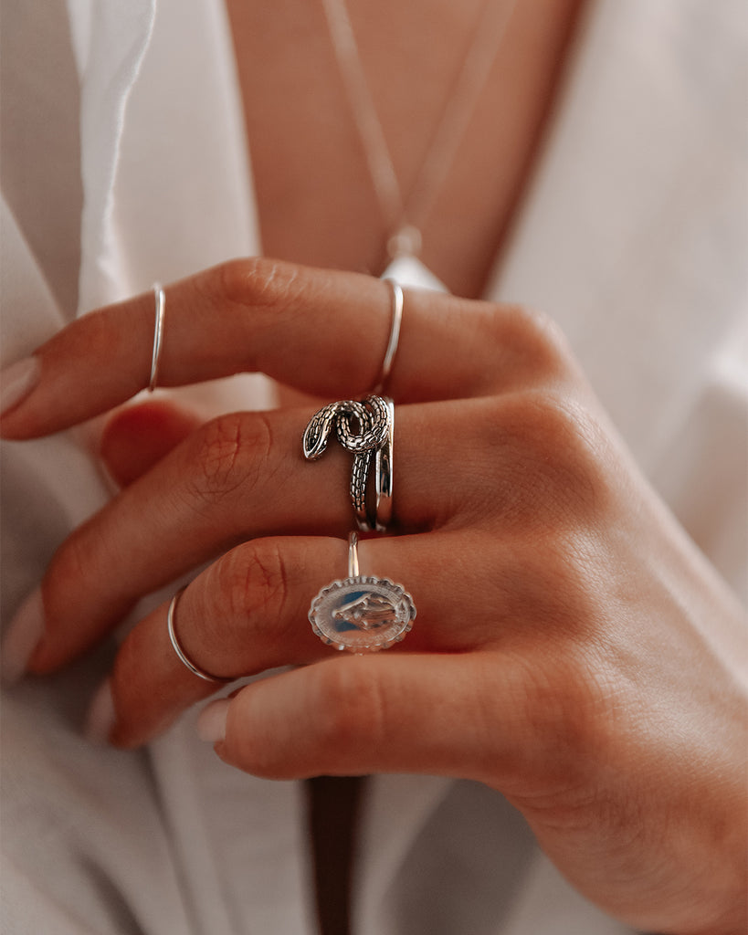 Honor Sterling Silver Miraculous Medal Ring