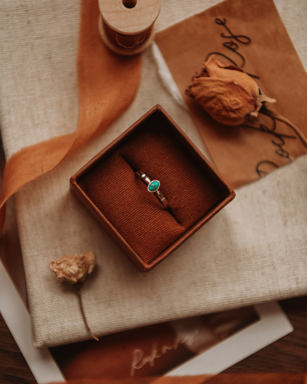Joanie Sterling Silver Birthstone Ring - December