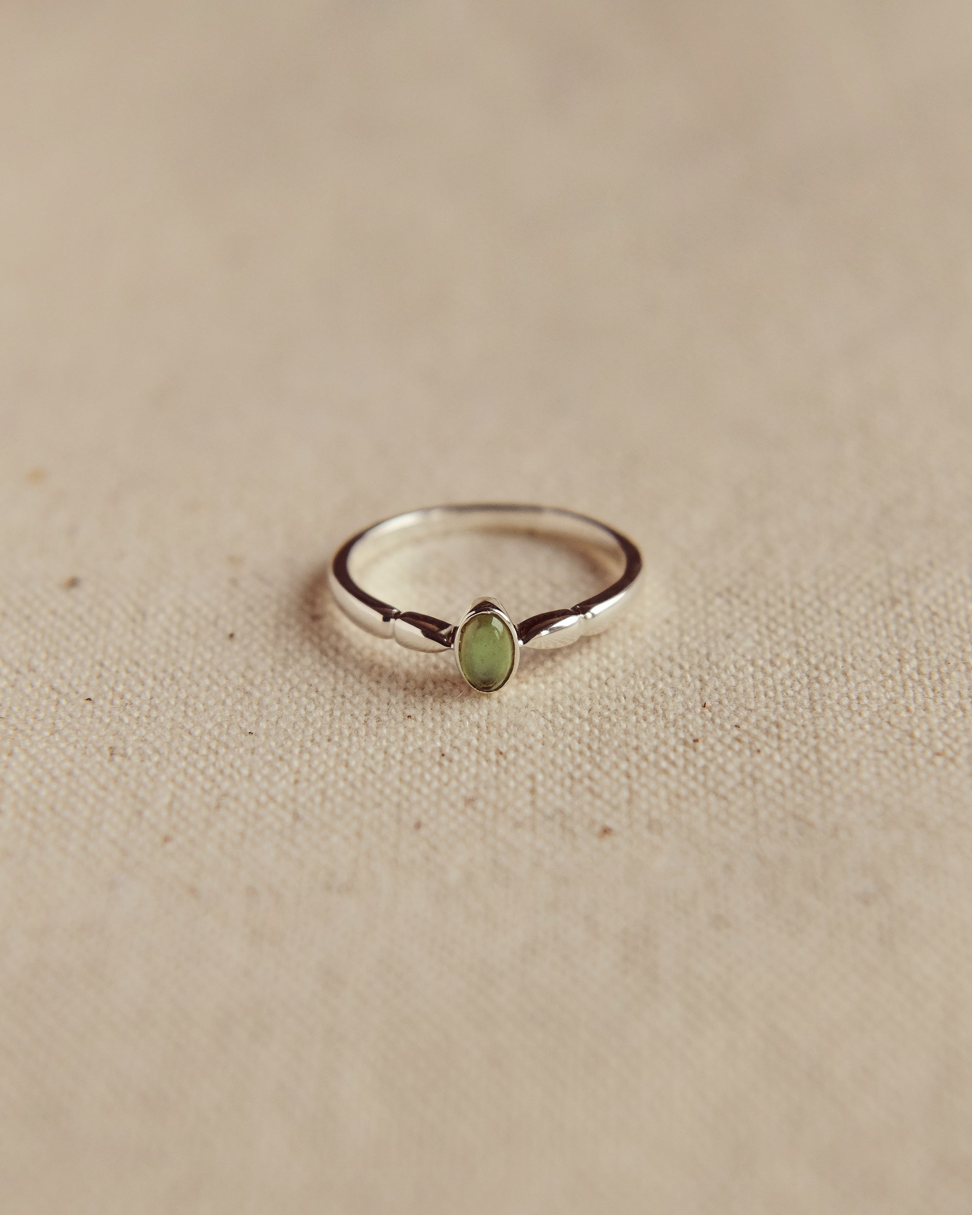 Image of Joanie Sterling Silver Birthstone Ring - May