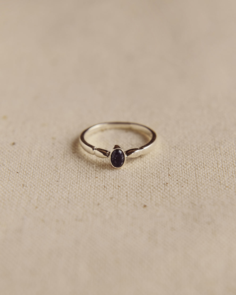 Joanie Sterling Silver Birthstone Ring - September