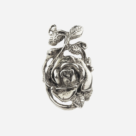 Juliette Sterling Silver Rose Ring