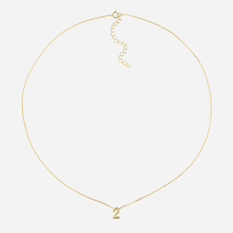 Life Path Number 2 Necklace
