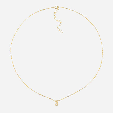 Life Path Number 3 Necklace