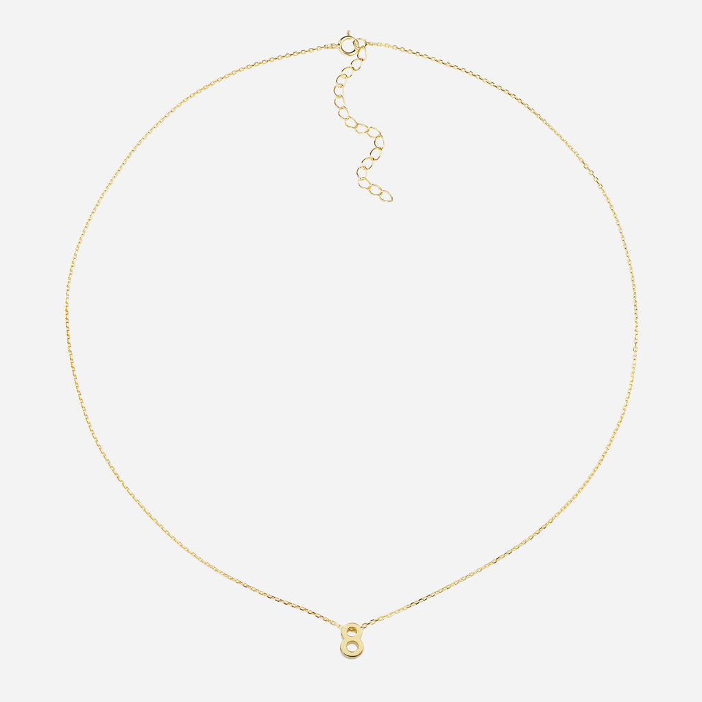 Image of Life Path Number 8 Necklace