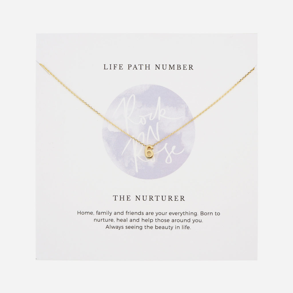 Life Path Number 6 Necklace