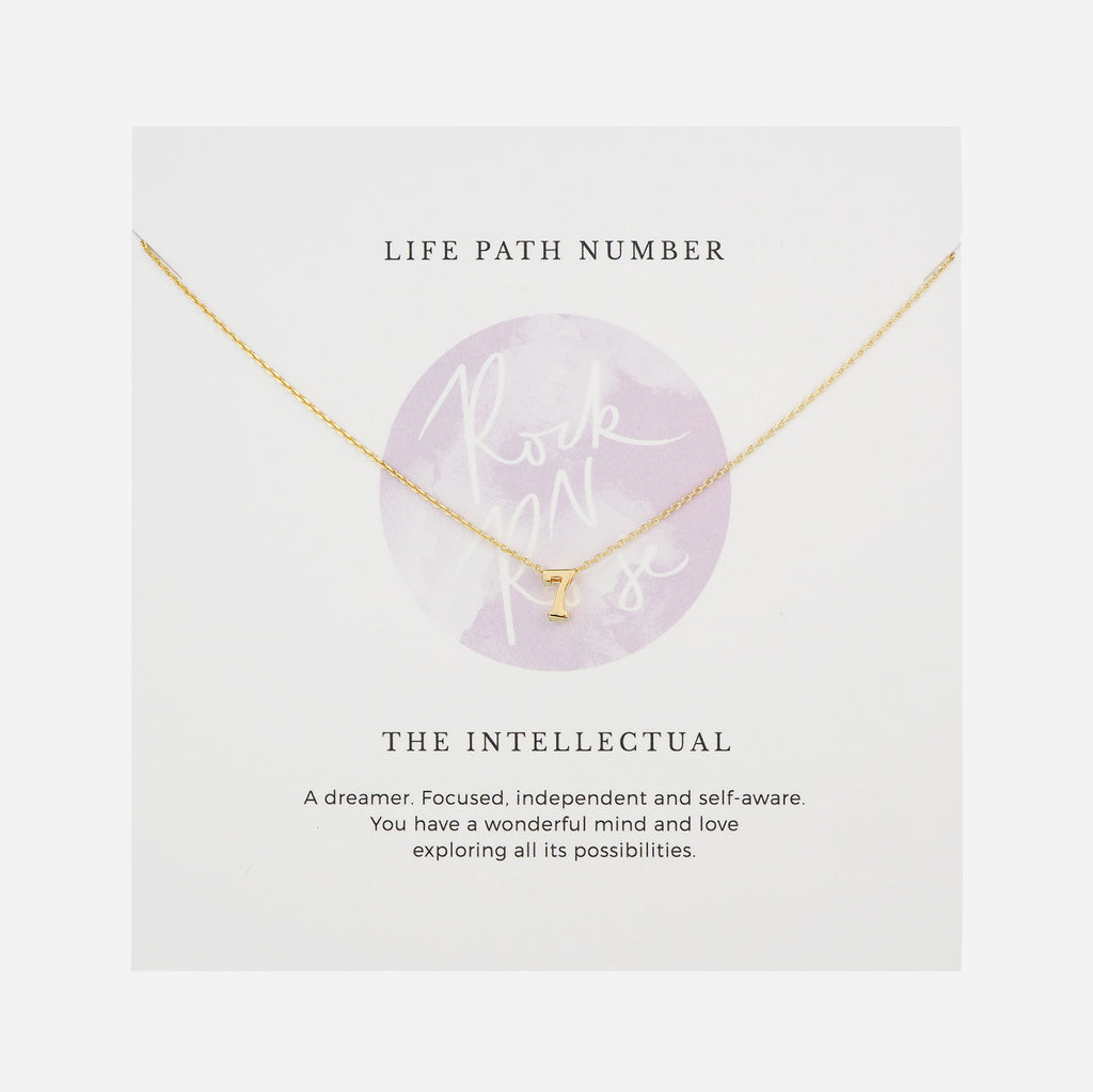 Life Path Number 7 Necklace